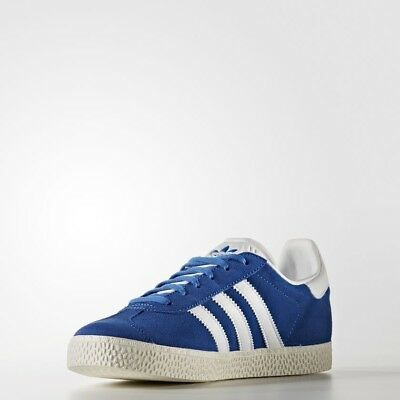 Youth (GS) Adidas Originals Gazelle J Blue/White BB2501
