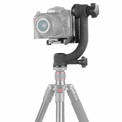 360° Panorama Gimbal Ball Head Heavy Duty Quick Release for Telephoto DSLR