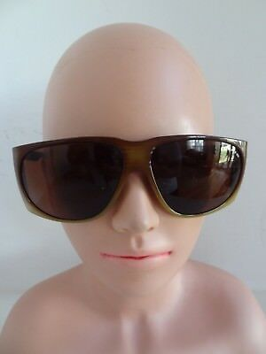 797103015b Vintage BOLLE IREX 100 Brown Men s Sunglasses - FRANCE - FREE SHIPPING!