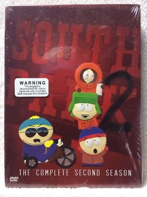 South Park - The Complete Second Season DVD Brand New! Factory Sealed!