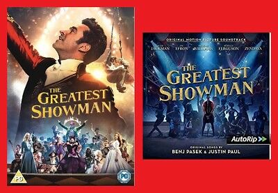 The Greatest Showman Double Pack Includes Greatest Showman DVD and CD