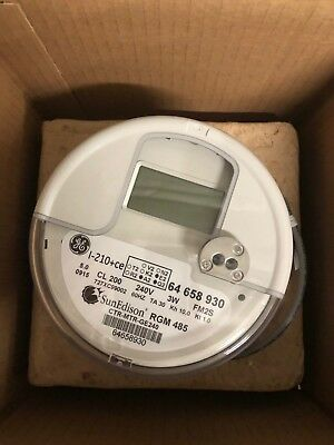 General Electric Revenue Grade Solar Meter I-210 GE New in the BOX w/Barcode