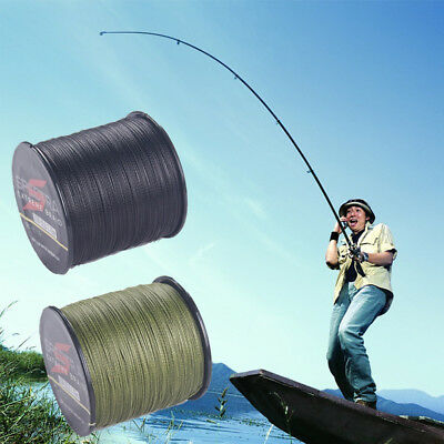 4 strand 100M Super Strong Japan Multifilament PE Braided Fishing Line 6-80LB