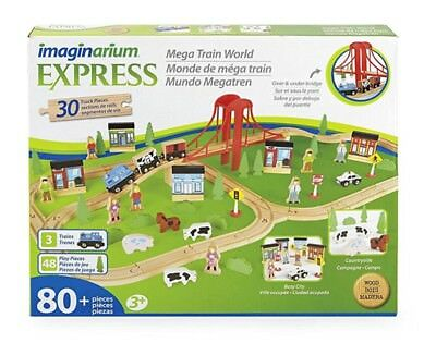 imaginarium all in one wooden train table instructions