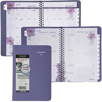 2019 At-A-Glance 938P-200 Beautiful Day Weekly Monthly Planner, 5-1/2 x 8-1/2""