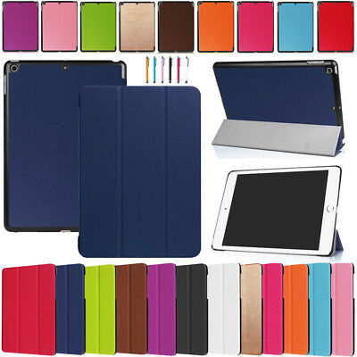 For Apple iPad 9.7 2018 6th gen Magnetic Flip PU Leather Smart Stand Case Cover