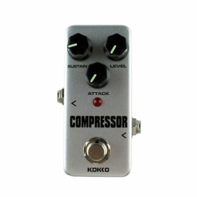 Professional KOKKO FCP2 Mini Compressor Pedal Portable Guitar Effect Pedal Grey