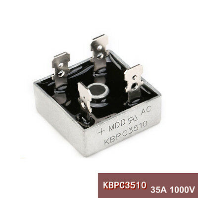 Bridge Rectifier 1ph 35A 1000V 35 Amp 1KV Metal Case 1000 volt KBPC3510 kbpc3510