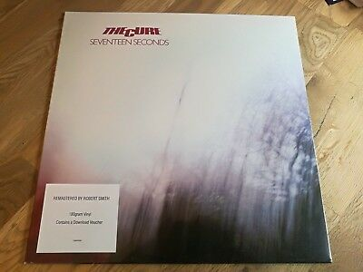 The Cure LP Seventeen seconds Remastered by Robert Smith MINT FACTORY SEALED