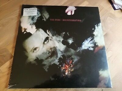 The Cure 2x LP Disintegration Remastered by Robert Smith MINT FACTORY SEALED