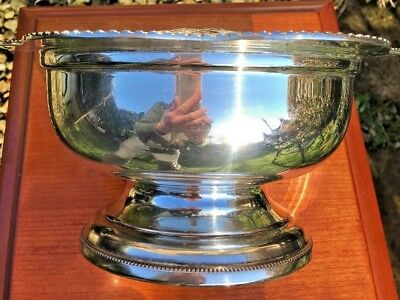 Arthur Price Vintage Silver Plated Rose Bowl And Grille -Sheffield
