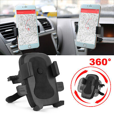 In Car Phone GPS Holder Air Vent Clip Cradle Universal Mount For iPhone Samsung