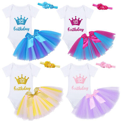 Baby Girl Infant Photo Costume Photography Prop Outfit Tutu Skirt Headband