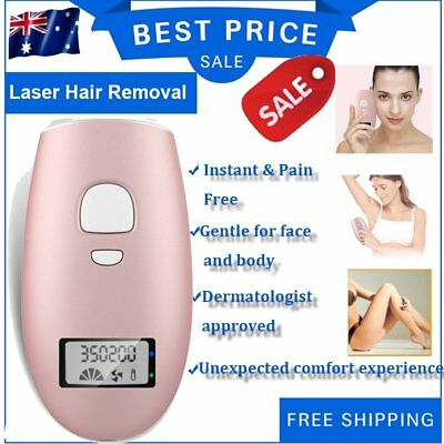 Women's Fashion Laser Hair Remover Instant Pain Free Finishing Touch Body/FaceIG