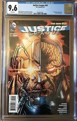 Justice League #40 ⭐️ CGC 9.6 ⭐️ 1st First Grail ⭐️ DC Comics