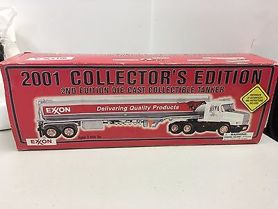 NIB Exxon 2001 Diecast Tanker Truck 2nd Edition Collectors Edition
