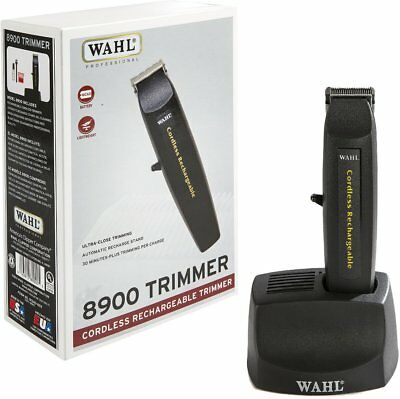 Wahl Professional Cordless Rechargeable Black Lightweight 6 Inch Trimmer, WAHL,