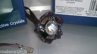 Swarovski Lila Purple Wild Blossem Personel Led Light 1079497 Active Crystals