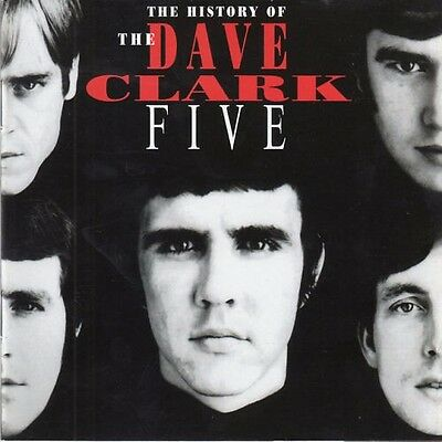 The History Of The Dave Clark Five 32Pg.book 2Cd [Free Same Day Shipping]