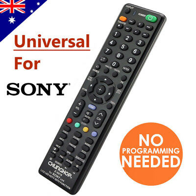 Universal TV Remote Control For SONY 3D LED LCD HDTV Smart TV Replacement