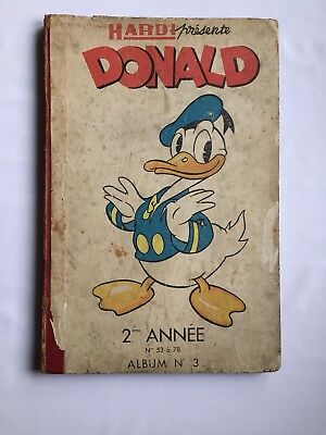 Donald N° 3 Journal 53 À 78 1948 / Hardy / Walt Disney / Rare