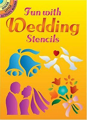 Fun with Wedding Stencils Adult Colouring Book Art Therapy 9780486436838
