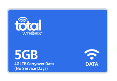 Total Wireless Add On Data (5 GB)- ONLINE Only