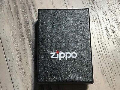 Zippo® Windproof Pocket Lighter Satin Chrome # 206 New in Box Free Shipping🔥B3