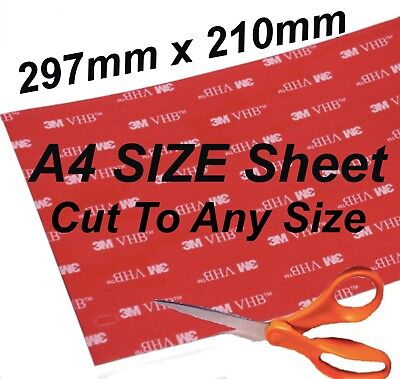 3M* Double Sided- CHEAP Large Sticky Pads Mounting Heavy Duty Self Adhesive Pad