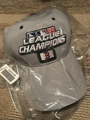 Boston Red Sox 2004 World Series League Champions Adjustable Velcro Hat