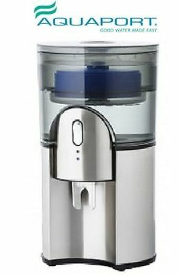 New Aquaport AQP 24SS Bench Top Water Cooler Stainess Steel Finish
