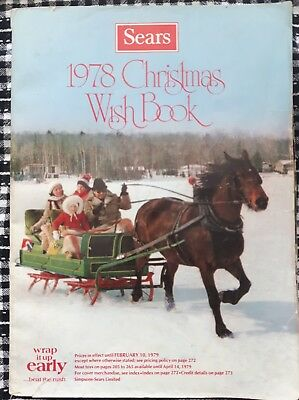 Sears Wish Book Christmas Catalog 1978 Star Wars Stretch Bionic Kotter Apes Hulk