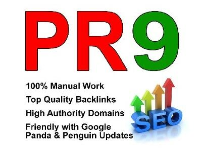 30 Pr9 Seo Backlinks Best Quality High Pr Google dofollow edu gov links