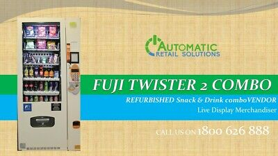 Fuji Twister 2 - Combo - Fresh Food, Snack and Drink Elevator  vending machine