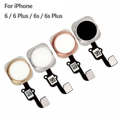 meet 1c21f 6f237 FOR IPHONE 6 6 Plus Home Button Touch ID Sensor Key Flex Cable Replacement  Test