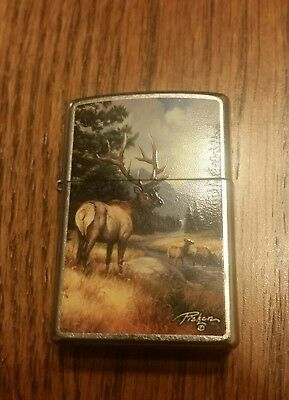 Zippo Linda Picken Collection Elk 2011 Lighter.