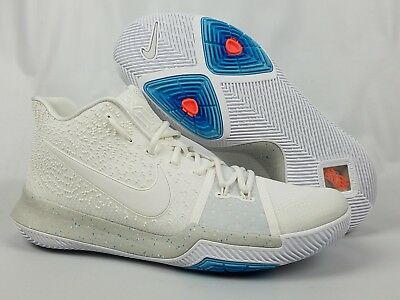f2961ea4c2f0 Men s Nike Kyrie 3 Ivory Pale Grey Light Bone Summer Pack 852395-101 Size 12