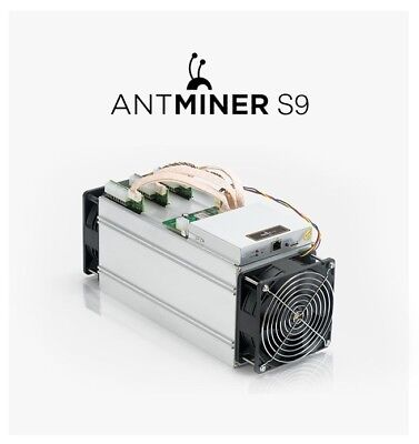 Bitmain Antminer S9 14TH/s with APW3++Power Supply