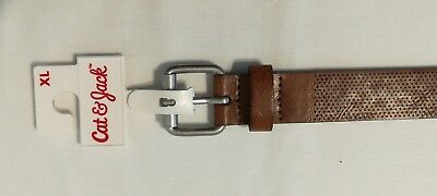 Cat & Jack NWT Girl's Brown Belt size XL 35""