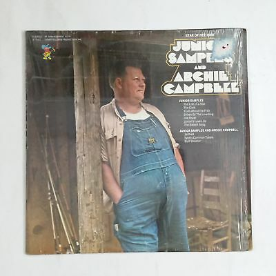 JUNIOR SAMPLES AND ARCHIE CAMPBELL Hee Haw S7051 LP Vinyl VG near + Cover Shrink