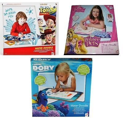 Water Doodle Set Disney Palace Pets or Toy Story Safe No Mess Fun Dory Princess