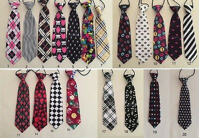 NEW Kids Boys Elastic Easy Neck Bow TIE, Photo Prop, Dress Up, Party, Events