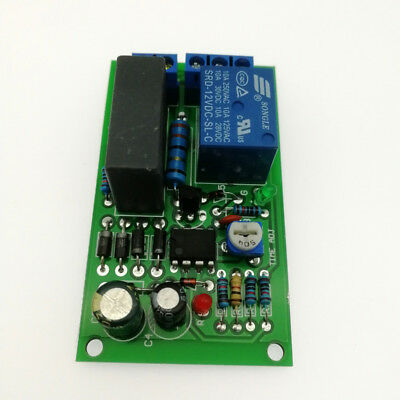 220V relay board power on time delay circuit module corridor switch stair light