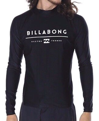 Mens Billabong All Day Unity LS Rashie - Rash Swim Top. Size XL. NWT, RRP $59.99