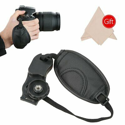 Universal Soft PU Leather Hand Grip Wrist Strap for Canon Nikon DSLR Cameras