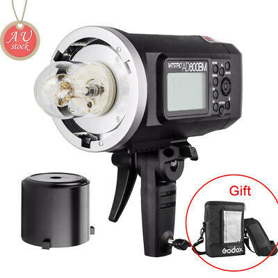 AU Godox AD600BM 2.4G HSS Studio Flash Strobe + PB-600 Portable Bag (free gift)