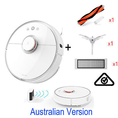 Xiaomi Mi Roborock S50 Robot Vacuum Cleaner 2nd Australian Version Combo set