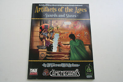 ROLLENSPIEL D20: ARTIFACTS OF THE AGES - SWORDS & STAVES,Quellenbuch D&D 3rd Ro3