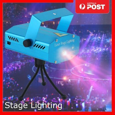 Stage Lighting Laser Projector Strobe Stage LED R&G Party KTV Disco DJ Light