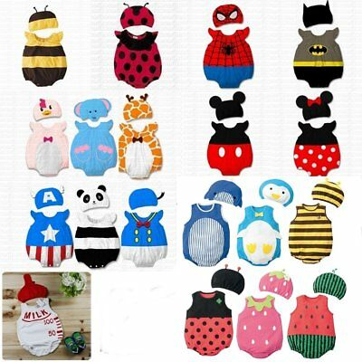fe2d347ffdf9e Baby Boy Girl Carnival Fancy Dress Party Costume Outfit Cloth Set Cosplay  Props